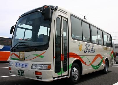 東交観光バス バスラインナップ